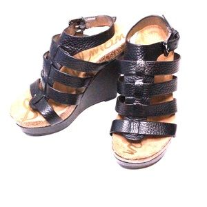 Cute Little Girl Sandal Heels